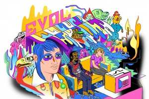 The Trippy Technicolor Illustrations of Mike Bertino