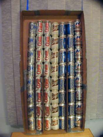 Beer Can Solar Heater