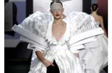 Collaged Runway Looks - The Viktor & Rolf Collection is Immense and Intense