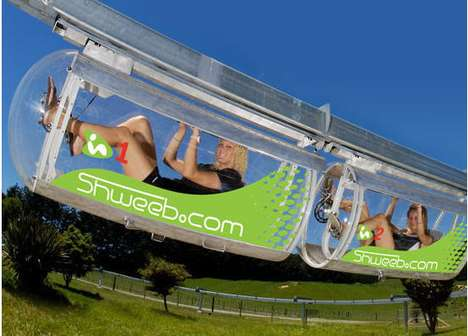 Shweeb Human-Powered Monorails