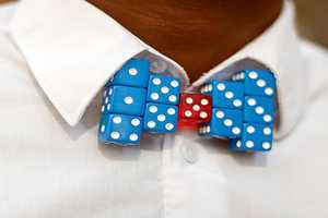 Mr. Talented Bow Tie Rolls the Dice & Wins