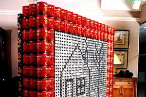 Works of Art Made From Recycled Cans