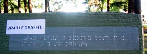 Braille Graffiti - Art For The Blind