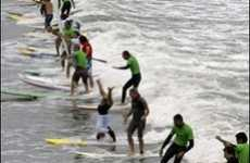 Record Surf Stunt