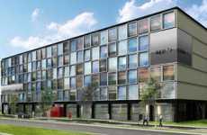 Amsterdam's 3rd Pod Hotel - CitizenM Concept