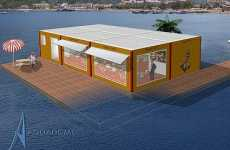 Ocean-Top Living - Aquadomi Floating House