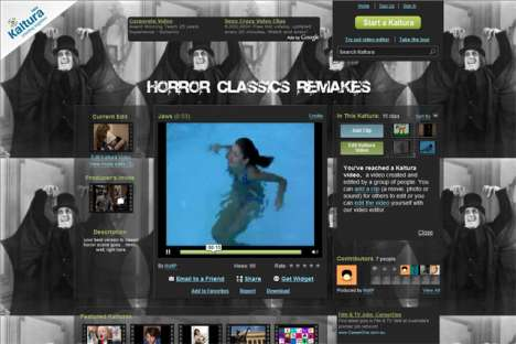 Open Source Content - Star in Your Own Horror Movie with Kaltura