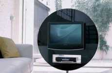 Circular TV Display