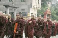 Thousands of Activist Buddhist Monks Lead Coup D'état