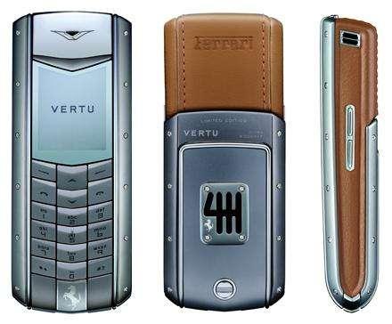 Nokia Vertu Ferrari Phone - Ascent Ferrari 60