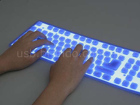 Keyboard For The Kluts - Spill Proof, Glows, Flexible