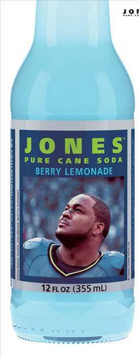 Football-Flavored Soda - NFL Inpires Jones