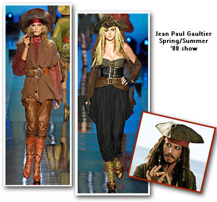 Pirates Commandeer Parisian Runway