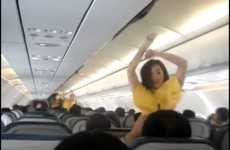 Boogying Safety Demos - Cebu Airlines Dance Their Way To Safe Traveling