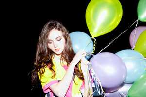 The Babycakes Varsity Shoot is a Bubbly Spread of Partytography