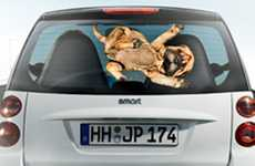 Canine Vehicle Campaigns - Evonik Uses E-Cars and Dogs to Sell Accumulators
