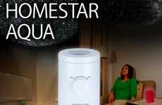 Starry Ceiling Projections - The 'HomeStar Aqua' is Your Own Personal Twinkling Planetarium