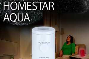 The 'HomeStar Aqua' is Your Own Personal Twinkling Planetarium