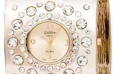 Opulent Cuff Timepieces