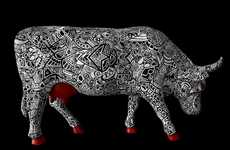 Brilliant Bovine Art