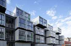 'Cite A Docks' uses Shipment Containers for Student Homes