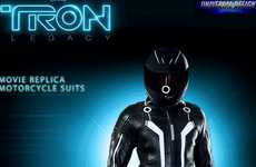The Limited Edition His & Hers Tron Motorcycle Suits