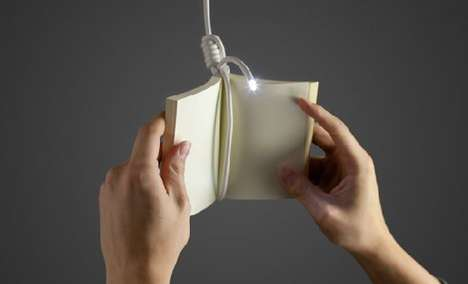hang book lamp