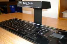 Bacteria-Obliterating Accessories - The 'Germ Genie' Zaps Unclean Communal Keyboards