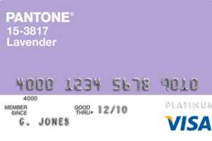 Shop in Style With these Pantone Visa Platinium Rewards Cards
