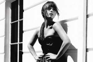 Christina Ricci Rocks Couture in Blackbook October 2010