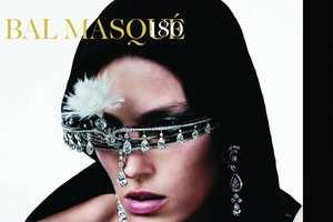 Vogue Paris October 2011 Issue Glamorizes Masked Looks