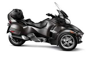 The 2011 BRP Can-Am Spyder RS Delivers Pure Exhilaration on the Open Road