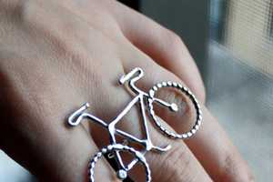 The Rachel Pfeffer Bike Jewelry Collection Will Catch a Few Stares