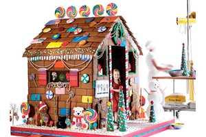 The $15,000 Edible Gingerbread Playhouse is 6 Feet of Sugary Fun
