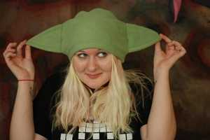 Star Wars Fleece Yoda Hat Helps You Use the Force