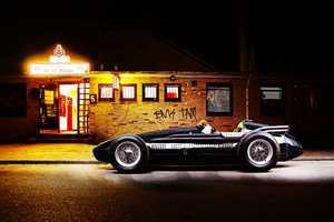 The Bernd Kammerer Maserati 250F Shoot Makes Night Time Look Good
