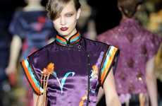 Geisha Haute Couture - The Louis Vuitton Spring/Summer Line Features Oriental Style