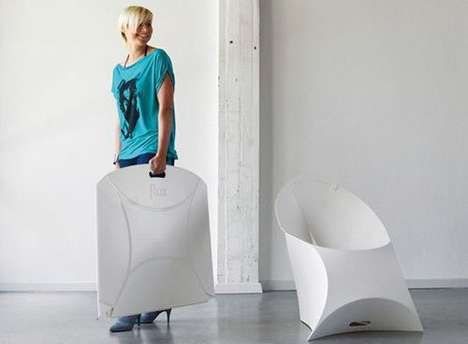 flux foldable armchairs
