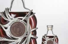 Sterling Silver Booze Bottles - Highland Park 50 Has Been Half a Century in the Making