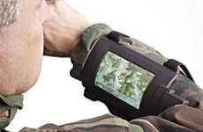 Military Wrist Displays - The Pip-Boy 3000 Transmits Crucial Information to Soldiers