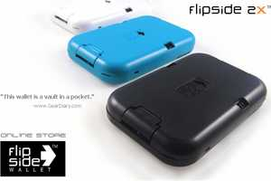 Flipside Wallet Sorts Through Cards with a Push of a Button