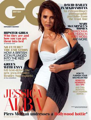 The Jessica Alba GQ UK November 2010 Spread is Sizzling
