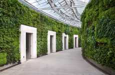 Gargantuan Green Walls - Longwood Gardens Boasts North America's Largest Lush Wall