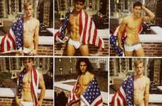 Patriotic Gender-Benders - The 'Amanda the Beautiful' Spread for Candy Magazine