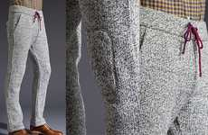 Wool Jogging Pants