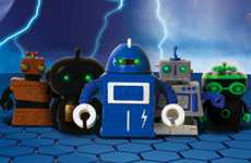 Tiny Droid Trinkets - These 'Zibits Mini Robots' are Controllable and Affordable