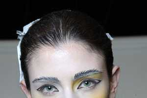 Vivienne Westwood's Spring Summer 2011 Show has Ghostly Makeup