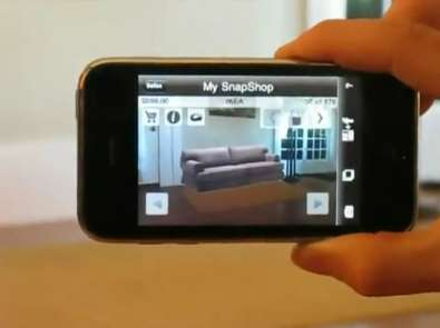 Virtual Interior Design - The iPhone Snapshop App Lets You Try Before You Buy