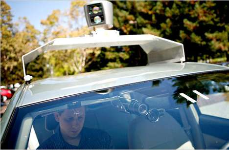 google self-driving robot car