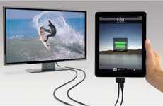 Television iPad Docks